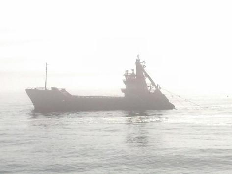 Robinson's favorite picture of his father's ship, SeaWatcher. Photo credit: Chris Robinson